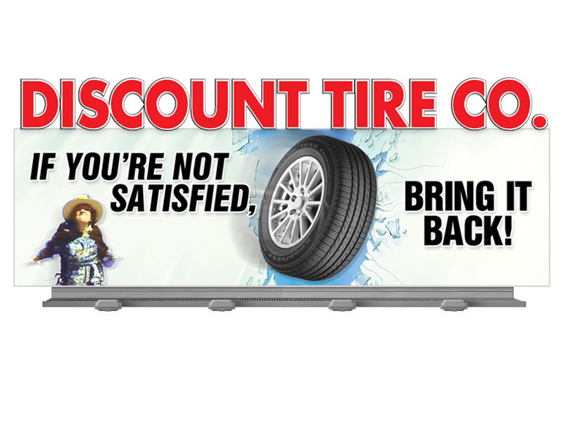 Discount Tire Billboard Advertising And Outdoor Advertising